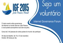 Anid seleciona voluntários para o IGF 2015