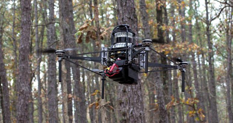Drones/Desmatamento