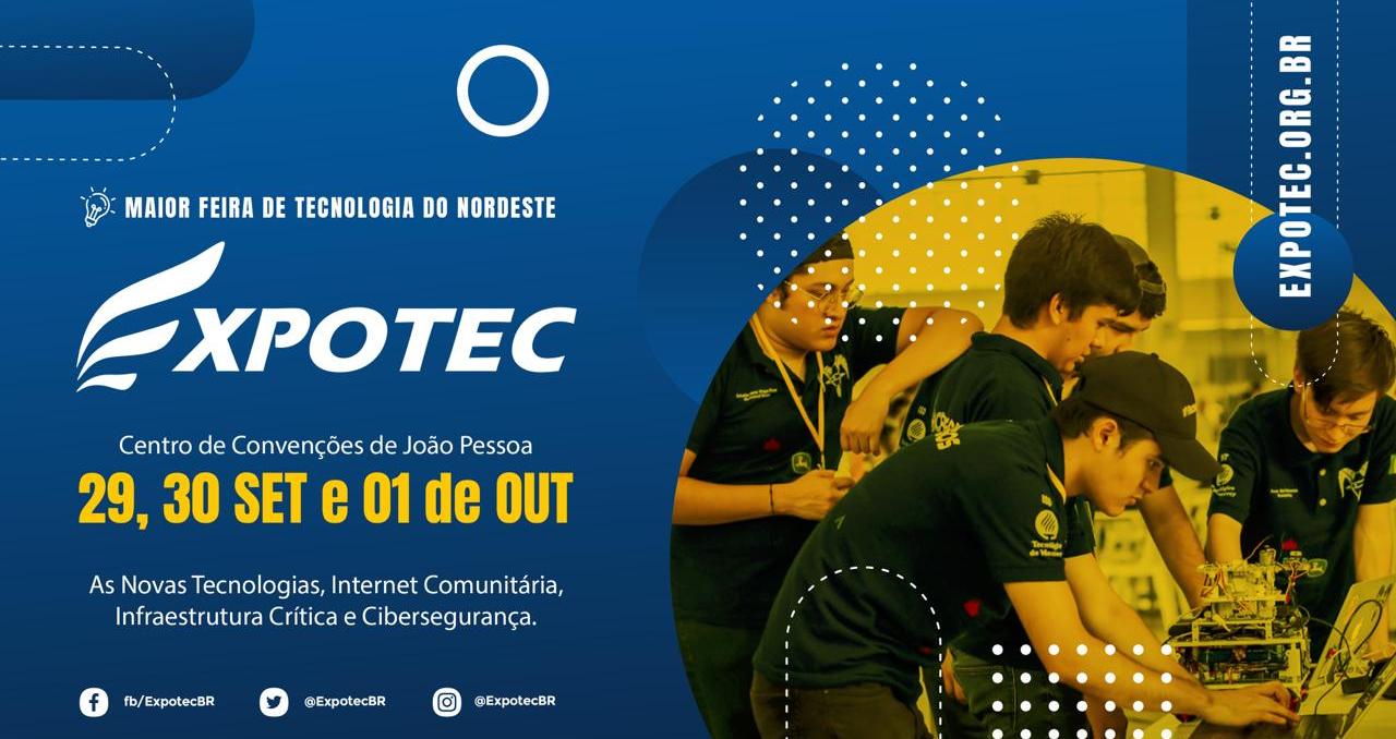 Expotec 2021: maior feira de tecnologia do Nordeste tem datas definidas