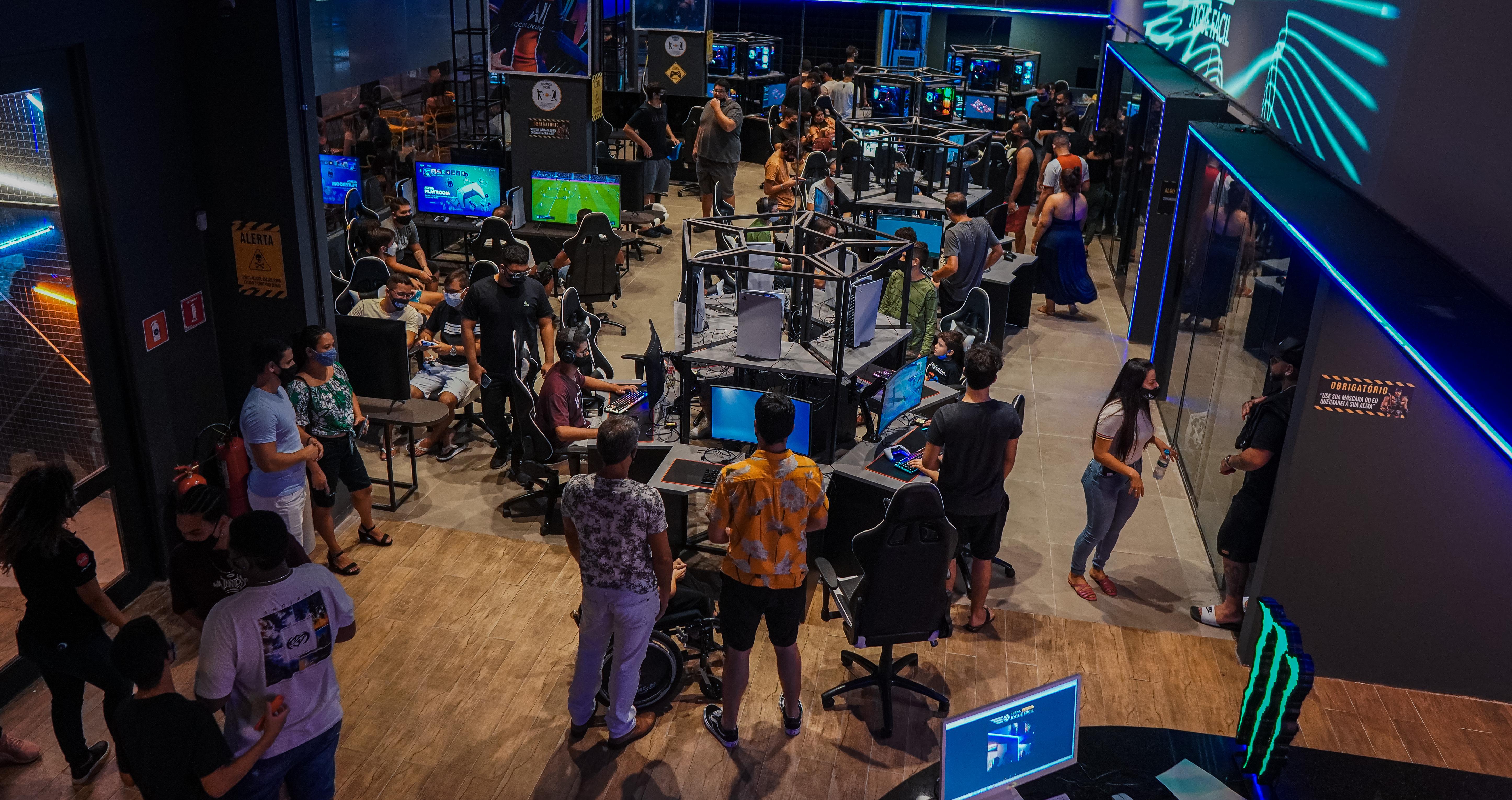 Expotec 2021 terá espaço gamer em parceria com a Arena Jogue Fácil